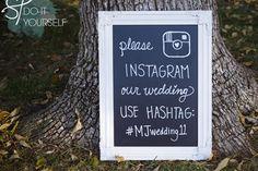 instagram no casamento