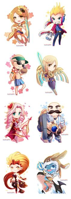 League of Legends chibi- CLS: