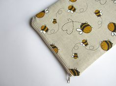 Linen bees MacBook Air 13 sleeve MacBook Air 13 Case by CasesLab, $25.00
