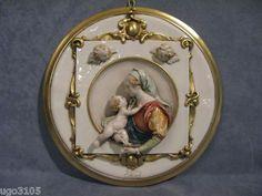 Capodimonte Porzellan,G.Cappe   Madonna in Miniatur  | eBay