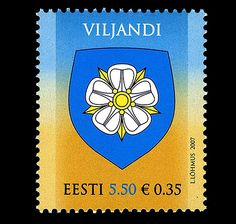 With about 20,000 inhabitants, Viljandi is the sixth biggest city in Estonia. #viljandi #stamp http://www.wopa-stamps.com/index.php?controller=country&action=stampRelatedIssue&id=9065