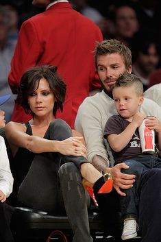 The Beckham Family's Twinning Hair Moments