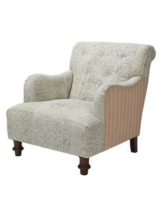 Stone Washed Armchair from Print Party: Furniture on Gilt
