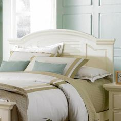 Pleasant Isle Full/Queen Panel Headboard by Broyhill Furniture - AHFA - Headboard Dealer Locator