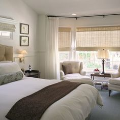 Traditional Bedroom Photos Master Bedroom Design, Pictures, Remodel, Decor and Ideas - page 9 Home, Bedroom Seating, Contemporary Bedroom, Bedroom Inspirations, Traditional Bedroom, Transitional Bedroom, Hotel Inspired Bedroom, Master Bedroom Sitting Area, Window Treatments Bedroom