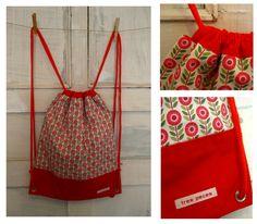 Mochila de cuerdas // Turnbeutel // Gym bag 'Carolina'