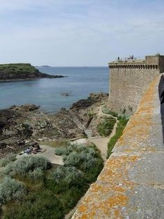 Saint-Malo is a walled port city in the Brittany region in France. The city has a history dating back to the Middle Ages when it was a fortified island at the mouth of the Rance River.