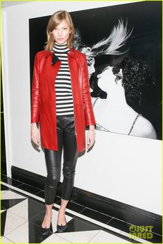 Karlie Kloss Glam Up for Gucci & Vogue Luncheon |