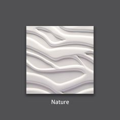 Modern and cozy. Nature 3D Wall Tile by #TexturalDesigns #SculpturalTile #3DTile #Wallcoverings