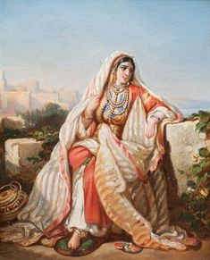 Global Art, Artist Painting, Art Market, Past, Oriental, Auction, Princess Zelda, Costumes, Portraits