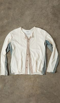 Neutral Side-Stripe Cardigan