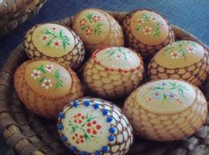 Easter eggs beautifully wrapped up, kids will love it ......^^