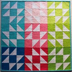 Seabreeze quilt by Leanne at Daisy and Jack. Seabreeze pattern by Megan Bohr of Canoe Ridge Creations