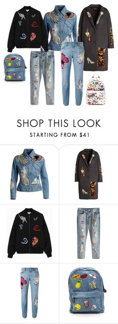 """Без названия #20"" by marina-samorodova on Polyvore featuring мода, Alexander McQueen, Dolce&Gabbana и Anya Hindmarch"