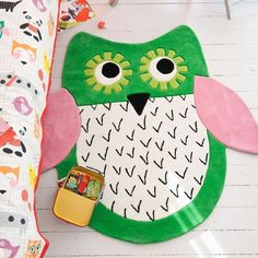 Cutest rug ever! Love owls!