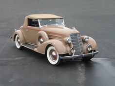 1934 Oldsmobile Series L Eight Convertible...very nice.....