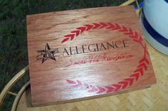 Cigar Box Allegience Brand New Kind by IndustrialPlanet on Etsy, $9.20