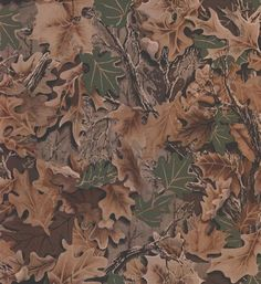 Camouflage Leaves - from Lake Forest Lodge book by Three Sisters Studio - York Wallcovering. Wallpaper Decor, Home Wallpaper, Computer Wallpaper, Wallpaper Borders, Rustic Wallpaper, Computer Backgrounds, Wallpaper Ideas, Realtree Camo Wallpaper, Camoflauge Wallpaper
