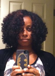 Shelli's Curly Fro hair set- Natural Hair Styles | Curly Nikki | Natural Hair Styles and Natural Hair Care