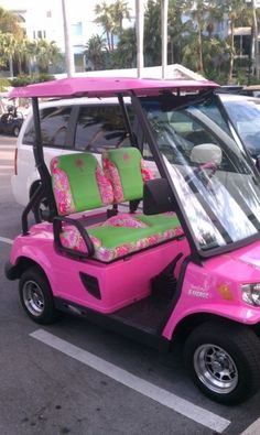 im doing this to Jeff's golfcart. hehehe