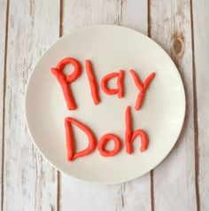 This edible play doh recipe takes only three basic ingredients. It smells great and is 100% safe to eat...although it's very, very sweet!