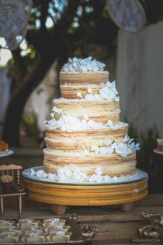 Bolo de rolo para casamento: rústico e uma delícia!