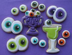I love all the different eyeballs.  So cute!