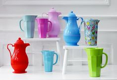 Rice melamine thermo and pitcher