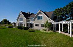 Timber frame home in Massachusetts.