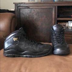 d87064fb Jordan Shoes | Nike Air Jordan Nyc Retro 10 Size 11 | Color: Black