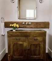 Our New Rustic Western Bathroom Sink Amp Faucet New Home