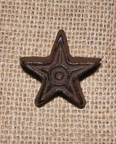 Cast Iron Rustic Star Drawer Pull #409