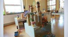 """Lovely resources offered in this building environment - image shared by Reggio Emilia inspirerte pedagoger i Norge ("""",)"""