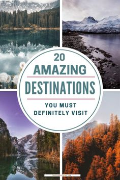 Fairytale Travel Destinations | The most beautiful travel destinations around the world. | Top 20 Must-See Beautiful Destinations. Best Travel Guides, Travel Info, Travel Tips, Amazing Destinations, Travel Destinations, Travel Around The World, Around The Worlds, Places To Travel, Places To Go