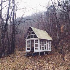 Little window house. I wanna build one!