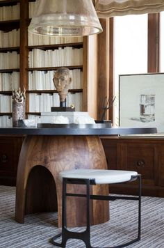 Table & stool by Caste