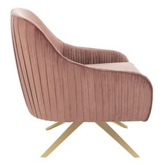 Small Swivel Chairs For Living Room Wooden Dining Room Chairs, Old Chairs, Accent Chairs For Living Room, Pink Chairs, Pink Sofa, Eames Chairs, Lounge Chairs, Small Swivel Chair, Upholstered Swivel Chairs