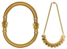 Ana Locking's Nuts and Bolts jewelry (via kingdomofstyle.typepad.co.uk)