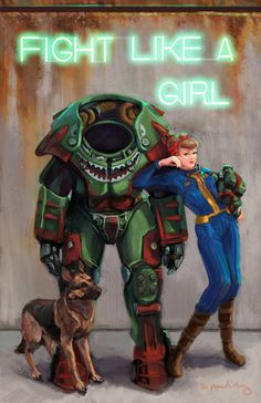 Fallout Like a Girl. - Amy Spaulding