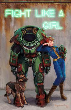 Fallout Like a Girl. - Amy Spaulding