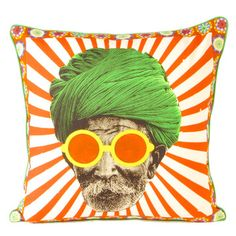 Turban Man 1 Cushion Cover, now featured on Fab. Cute Pillows, Solid Wood Furniture, Design Your Own, Objects, Cushions, Turban, Cover, Inspiration, Happiness