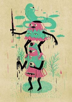 Inkygoodness T-shirt by Am I Collective , via Behance