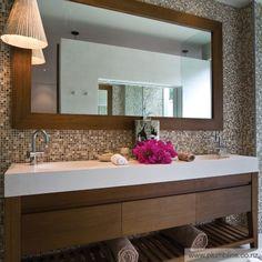 Piano lavabo doppio / in composito / in pietra - OVAL - apaiser pty Diy Bathroom Vanity, Bathroom Styling, Bathroom Furniture, Small Bathroom, Bathroom Ideas, Bath Ideas, Bathroom Designs, Howard House, Stone Bathtub