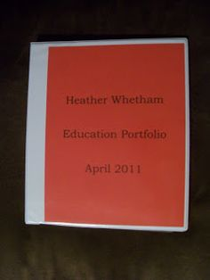 Teaching Portfolio How To & Tips {ideas for how to create one, what to include, and how to use them during interviews!}