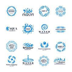 Water Drop Logo, Water Logo, Water Bottle Logos, Beach Logo, Sewing Machine Repair, Water Packaging, Banners, Surf, Bussiness Card