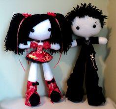 Marusu and Nyoko Ugly Dolls, Creepy Dolls, Cute Dolls, Plush Dolls, Blythe Dolls, Girl Dolls, Rag Dolls, Kawaii Plush, Cute Plush