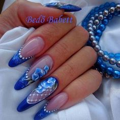 Gefällt es dir Nail Art New Ideas 2018 Beauty Tips For Legs Fabulous Nails, Gorgeous Nails, Pretty Nails, Fancy Nails, Bling Nails, Uñas One Stroke, Punk Nails, Jolie Nail Art, Nagellack Trends