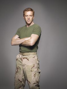 Damian Lewis is one of the two redheads I've ever liked!