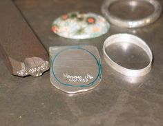 How to make a bezel setting.. This site shoes you how to make and set an enamelled copper dome .. It's very interesting and inspiring