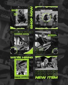 Feeds Instagram, Instagram Grid, Style Instagram, Instagram Design, Instagram Fashion, Instagram Posts, Sports Graphic Design, Graphic Design Posters, Graphic Design Inspiration